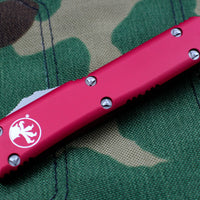 Microtech Ultratech Red Tanto Edge OTF Knife Part Serrated Satin Blade 123-5 RD