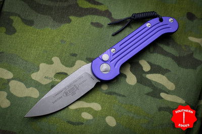 Microtech LUDT Purple Single Edge OTS Knife Apocalyptic Blade 135-10 APPU