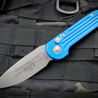 Microtech LUDT OTS Blue Knife Apocalyptic Blade 135-10 APBL