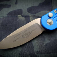 Microtech LUDT Blue Knife Bronzed Blade 135-13 BL