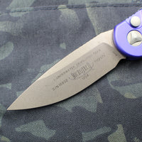 Microtech LUDT Purple Knife Bronzed Blade 135-13 PU