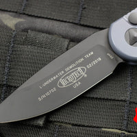 Microtech LUDT Gray Knife Black Blade Tactical 135-1 GY