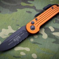 Microtech LUDT Orange Knife Black Part Serrated Blade 135-2 OR