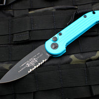 Microtech LUDT Turquoise Knife Part Serrated Blade 135-2 TQ