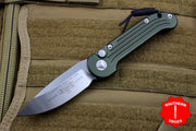 Microtech LUDT OD Green Knife Satin Blade 135-4 OD