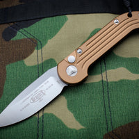 Microtech LUDT Tan Knife Satin Blade 135-4 TA