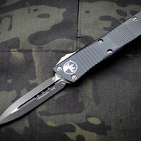 Microtech Troodon Double Edge OTF knife Black with Black Blade 138-1