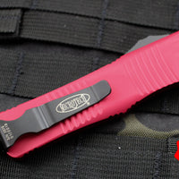 Microtech Troodon RED Double Edge OTF knife with Black Blade 138-1 RD