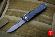 Microtech Troodon Single Edge OTF knife Black with Apocalyptic Blade 139-10 AP