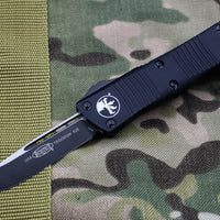 Microtech Troodon Single Edge OTF Knife Black Tactical with Black Blade 139-1 T