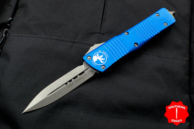 Microtech Combat Troodon Blue Double Edge Apocalyptic Blade 142-10 APBL