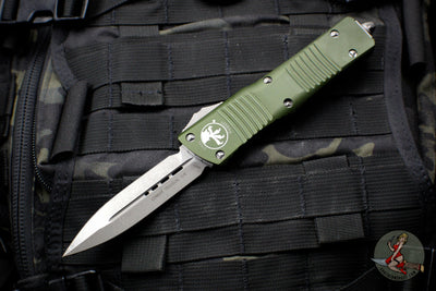 Microtech Combat Troodon OD Green Double Edge Apocalyptic Blade 142-10 APOD