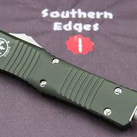 Microtech Combat Troodon OD Green D/E Stonewash Blade 142-10 OD