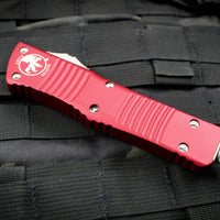 Microtech Red Combat Troodon Double Edge Stonewash Part Serrated Blade 142-11 RD