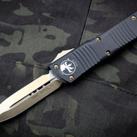Microtech Combat Troodon Black Double Edge Bronze Blade 142-13