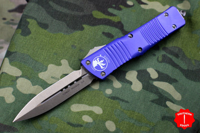 Microtech Combat Troodon Purple Double Edge Bronze Blade 142-13 PU
