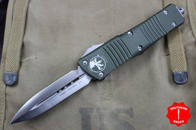Microtech Combat Troodon Black D/E Satin Blade 142-4 OD