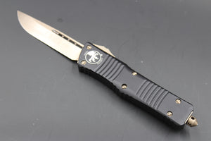 Microtech Combat Troodon Black S/E Tactical Bronze Blade 143-13