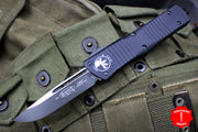 Microtech Combat Troodon Black S/E Tactical Black Blade 143-1 T