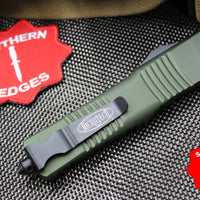 Microtech Combat Troodon OD Green S/E Black Blade 143-2 OD
