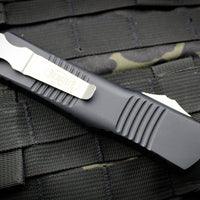 Microtech Combat Troodon Black Tanto Edge Part Serrated Stonewash Blade 144-11