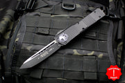 Microtech Combat Troodon Black Tactical Tanto with Black Blade 144-1 T