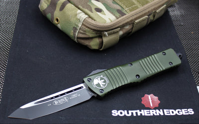 Microtech Combat Troodon OD Green Tanto Black Blade 144-1 OD