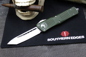 Microtech Combat Troodon OD Green T/E Satin Blade 144-4 OD
