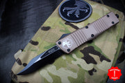 Microtech Combat Troodon Tan Bowie Black Blade 146-1TA