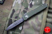 Microtech UTX-70 OD Green Single Edge (OTF) Apocalyptic Blade 148-10 APOD