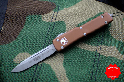 Microtech UTX-70 Tan Single Edge (OTF) Apocalyptic Blade 148-10 APTA