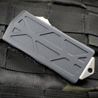 Microtech Exocet Proof Run Double Edge Out The Front (OTF) Stonewash Blade Wallet Clip 157-10 PR