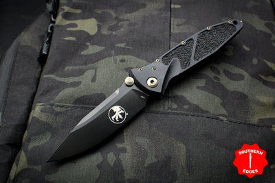 Microtech Socom Elite Single Edge Manual Folder DLC Blade 160-1 DLCS