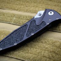 Microtech Socom Elite Single Edge Manual Folder Two-tone Black Blade 160-1