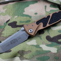 Microtech Tan Socom Elite Tanto Manual Folder Apocalyptic Blade 161-10 APTA