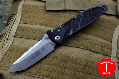 Microtech Socom Elite Tanto Manual Folder Stonewash Blade 161-10