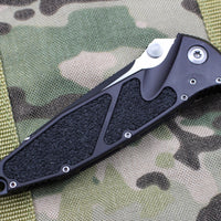 Microtech Socom Elite Tanto Edge Manual Folder Two-tone Black Part Serrated Blade 161-2
