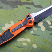 Microtech Socom Elite Auto Orange Tanto Edge OTS Part Serrated Blade 161A-2 OR