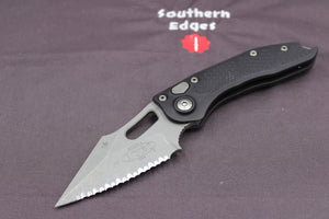 Microtech Stitch Knife Apocalyptic Full Serrated Blade 169-12 AP