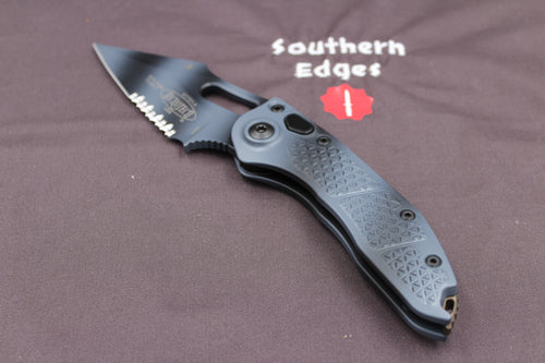 Microtech Stitch Urban Camo Knife Urban Camo Part Serrated Blade 169-2 UC
