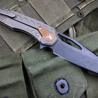 Microtech Limited Edition Sigil Bronzed with Black DLC Blade196-1 BZ