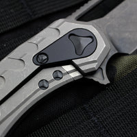Microtech Sigil Tactical DLC two tone Handle with DLC Blade196-1 DLCT
