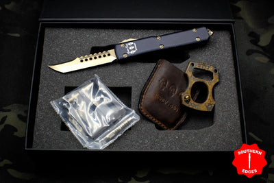 Marfione Custom 2017 Tactical Knife Invitational Set Hellhound Burnly