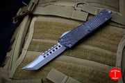 Microtech Combat Troodon Hellhound (OTF) Carbon Fiber Top Apocalyptic Finished Blade 219-10 APCF