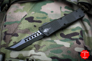 Microtech Hellhound Combat Troodon OD Green Cerakoted (OTF) OD Green Blade 219-1 COD