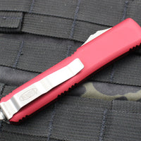 Microtech Ultratech Red Spartan OTF Knife Stonewash Blade 223-10 RD