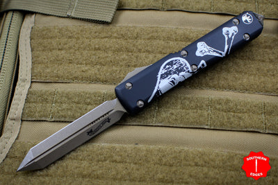 Microtech DEATH CARD Ultratech Spartan Edge OTF Knife Bronze Blade 223-13 DC