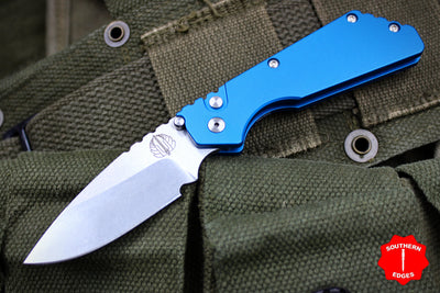 Protech Pro Strider PT Blue Body Black Blade 2301-BLUE