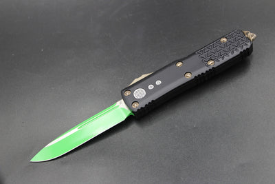 Microtech UTX-85 Black S/E Knife Green Blade 231-1 JM
