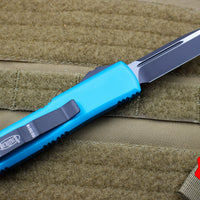 Microtech UTX-85 Turquoise Single Edge Knife Black Blade 231-1 TQ